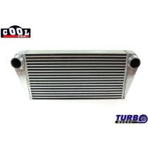 Intercooler TurboWorks 600x300x76 hátsó kivezetéssel